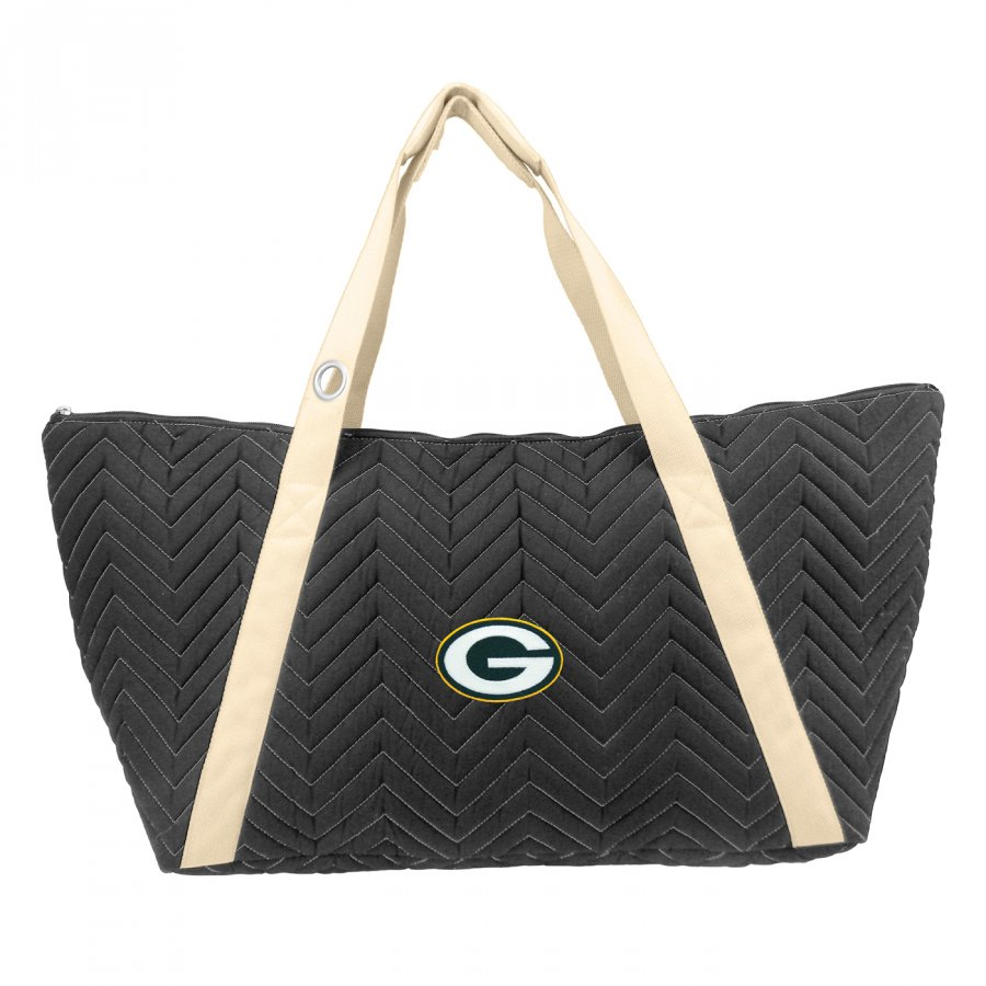 Green Bay Packers Chevron Stitch Weekender Bag