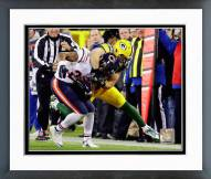 Green Bay Packers Clay Matthews 2014 Action Framed Photo