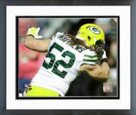 Green Bay Packers Clay Matthews 2015 Action Framed Photo