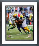 Green Bay Packers Clay Matthews & Julius Peppers 2014 Action Framed Photo