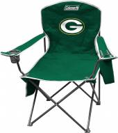 Green Bay Packers Coleman XL Cooler Quad Chair