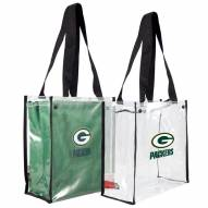 Green Bay Packers Convertible Clear Tote
