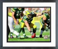 Green Bay Packers Corey Linsley 2014 Action Framed Photo