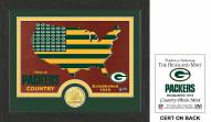 Green Bay Packers Country Bronze Coin Photo Mint