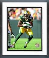 Green Bay Packers Davante Adams 2014 Action Framed Photo