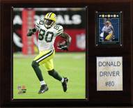 "Green Bay Packers Donald Driver 12 x 15"" Player Plaque"