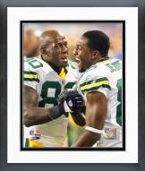 Green Bay Packers Donald Driver & Greg Jennings 2006 Framed Photo