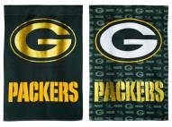 Green Bay Packers Double Sided Glitter Flag