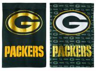 Green Bay Packers Double Sided Glitter Garden Flag