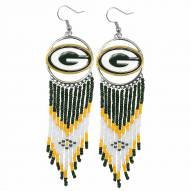 Green Bay Packers Dreamcatcher Earrings