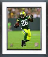 Green Bay Packers DuJuan Harris 2014 Action Framed Photo