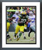Green Bay Packers Eddie Lacy 2014 Playoff Action Framed Photo