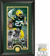 Green Bay Packers Eddie Lacy Supreme Bronze Coin Panoramic Photo Mint