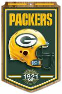 "Green Bay Packers ""Established"" Wood Sign"