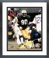 Green Bay Packers Ezra Johnson Framed Photo
