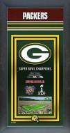 Green Bay Packers Framed Championship Print