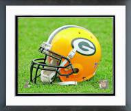 Green Bay Packers Green Bay Packers Helmet Framed Photo