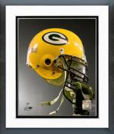 Green Bay Packers Green Bay Packers Helmet Spotlight Framed Photo
