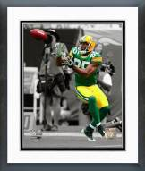 Green Bay Packers Greg Jennings 2008 Spotlight Action Framed Photo