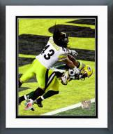 Green Bay Packers Greg Jennings Super Bowl XLV Action Framed Photo