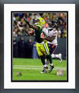 Green Bay Packers Ha Ha Clinton-Dix 2014 Action Framed Photo
