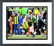 Green Bay Packers Ha Ha Clinton-Dix Interception Framed Photo