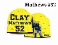 Green Bay Packers Heavyweight Clay Matthews Beanie