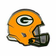 Green Bay Packers Helmet Car Emblem