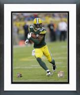 Green Bay Packers Jarrett Bush 2014 Action Framed Photo