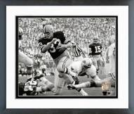 Green Bay Packers Jim Grabowski 1967 Action Framed Photo