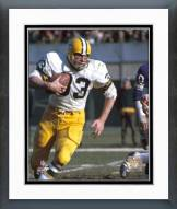 Green Bay Packers Jim Grabowski Action Framed Photo
