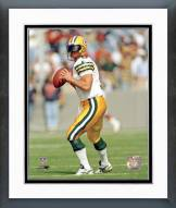 Green Bay Packers Jim McMahon Action Framed Photo