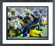 Green Bay Packers John Kuhn 2014 Action Framed Photo