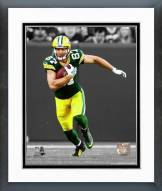 Green Bay Packers Jordy Nelson 2014 Spotlight Action Framed Photo