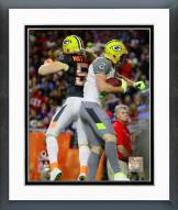 Green Bay Packers Jordy Nelson & Clay Matthews 2015 NFL Pro Bowl Framed Photo