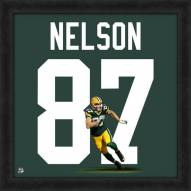 Green Bay Packers Jordy Nelson NFL Uniframe Framed Jersey Photo