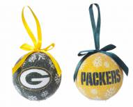 Green Bay Packers LED Boxed Ornament Set