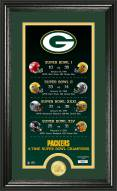 Green Bay Packers Legacy Bronze Coin Photo Mint