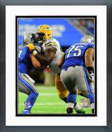 Green Bay Packers Letroy Guion 2014 Action Framed Photo