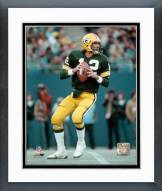 Green Bay Packers Lynn Dickey Action Framed Photo