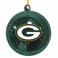 Green Bay Packers Mercury Glass Ornament