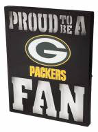 Green Bay Packers Metal LED Wall Sign