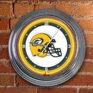Green Bay Packers NFL Neon Wall Clock