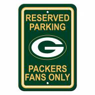 Green Bay Packers Parking Sign - Set of 2