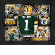 Green Bay Packers Personalized Framed Action Collage