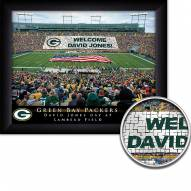 Green Bay Packers Personalized Framed Stadium Print