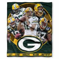 Green Bay Packers Players Silk Touch Blanket