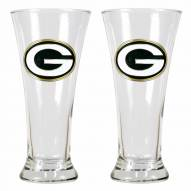 Green Bay Packers Premiere Pilsner Glass Set