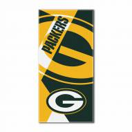 Green Bay Packers Puzzle Beach Towel