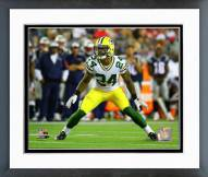 Green Bay Packers Quinten Rollins 2015 Action Framed Photo